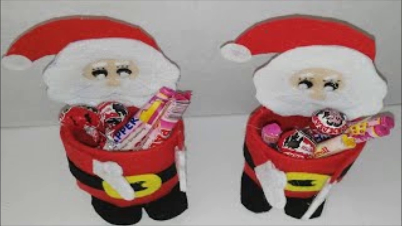 Manualidades con botellas para navidad youtube - Manualidades con fieltro para navidad ...