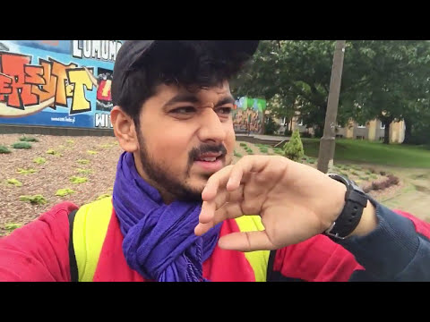 Poland Vlog | Indian Student Life In Poland 2017 | Łódź City | Iaeste Poland | Internship | Europe