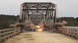 Highway 76 Bridge Demolition - Forsyth, Missouri