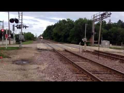 Metra F40PH-3 #149 West - Fox River Grove, IL