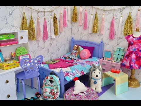 American Girl Doll Room Mystery Box Challenge!