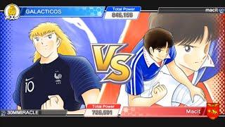 TPL vs Macit - Captain Tsubasa Dream Team