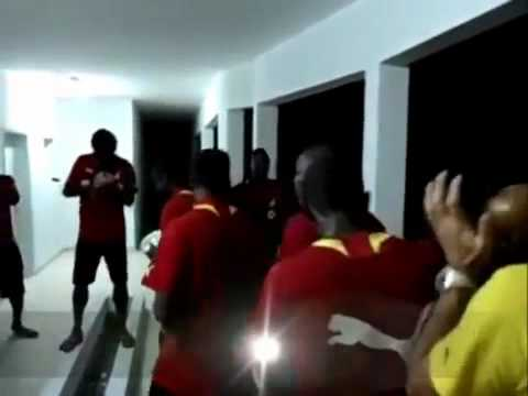 Ghana Black Stars Gospel Jama at Yesterday night to face Mali today.