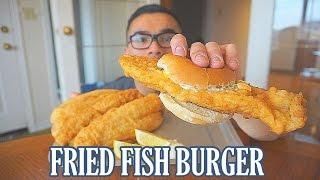 Fried Fish Burger Recipe