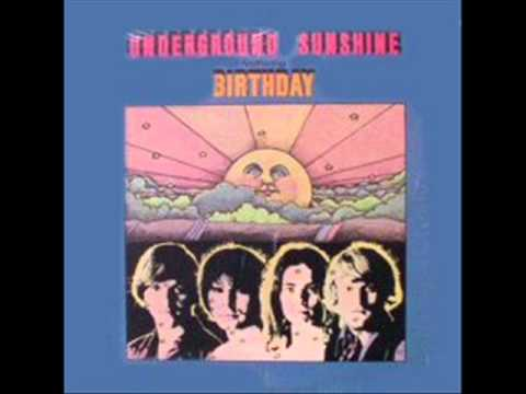Underground Sunshine Birthday