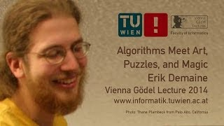 Erik Demaine: Algorithms Meet Art, Puzzles, and Magic