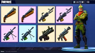 *NEW WEAPONS* Automatic Shotguns, Precision Rifles and more coming to Fortnite: Battle Royale