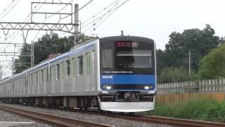 東武60000系61616F大和田~七里通過