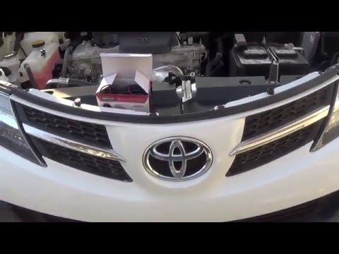 2015 Toyota RAV4 LE Front View Camera Installation