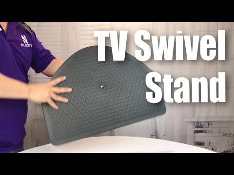 LapWorks Big Screen TV Swivel Table With 21x16 Inch Base And Steel Ball  Bearings Review