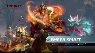 Dota 2 Pro Storm Spirit | 21-1 vs Divine Ember Spirit