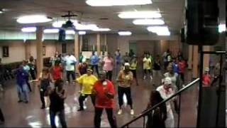 Hip Swinging Blues Line Dance