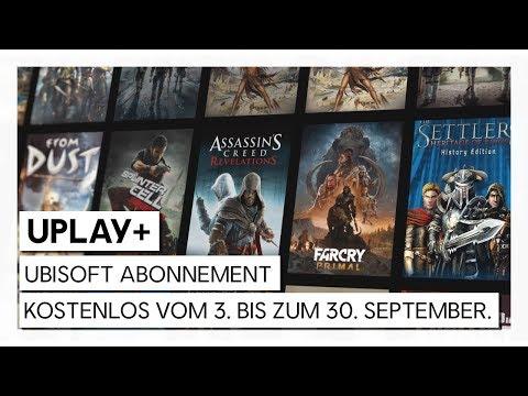 UPLAY+ KOSTENLOS: ENTDECKE DAS UBISOFT ABONNEMENT AB 3. SEPTEMBER 2019   Ubisoft [DE]