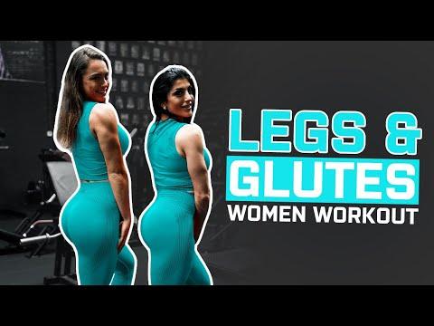 Entraînement intensif des jambes et des fessiers | Séances d'entraînement pour les femmes