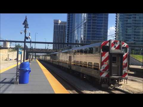 Metra Electric & South Shore Rush Hour Action @ Museum Campus