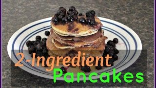 How To Make 2-ingredient (banana) Pancakes (gf, Grain Free, Low Calorie And Easy)