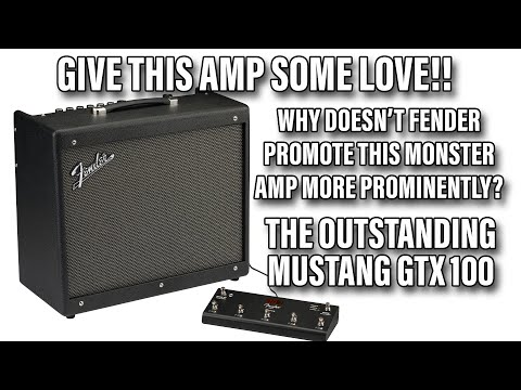 The Affordable Amp To Rule Them All  Fender Mustang GTX100