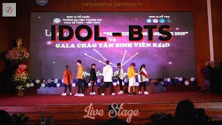 [LIVE STAGE PERFORMANCE] BTS (방탄소년단) - 'IDOL' (아이돌) Dance Cover By C.A.C from Hanoi, Vietnam - Stafaband