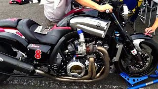 😎 Легендарный Драгстер Yamaha V-MAX - Кастом 💪!