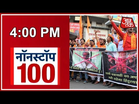 Nonstop 100: Protests Against Padmavati Movie Intensifies; Deepika Padukone's Security Tightened