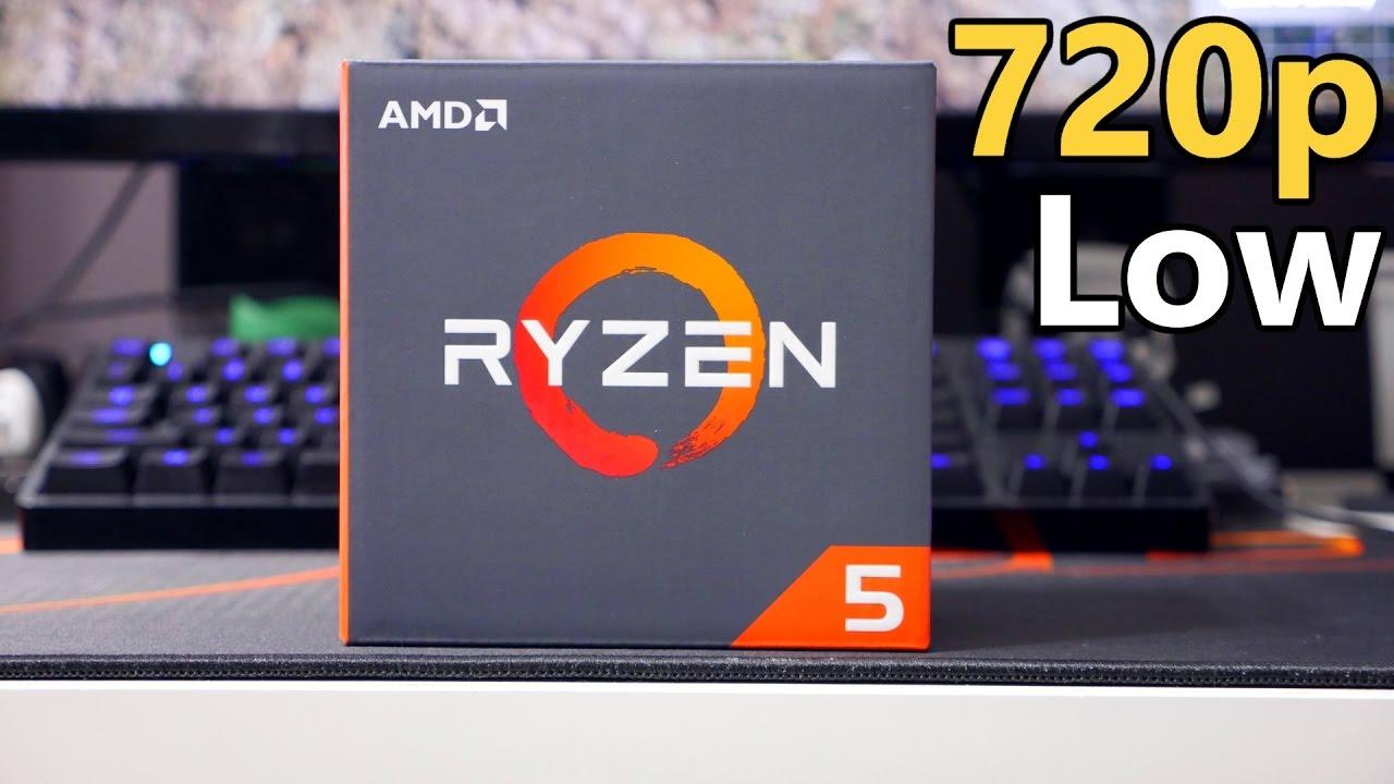 AMD Ryzen 5 1600X vs Intel i5 CPU - Gaming and Streaming Benchmark