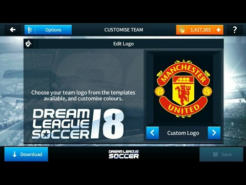 15d167690 How To Import Manchester United logo And kits In Dream league Soccer 2018!!