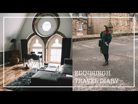 ALLEINE IN SCHOTTLAND // Edinburgh Travel Diary VLOG