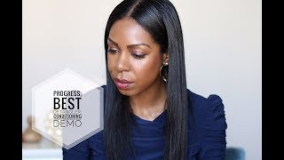 How I Keep My Relaxed Hair Healthy & Long  | Dominique of Style Domination