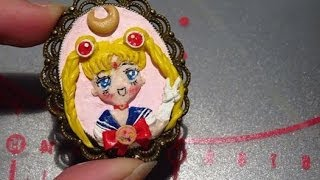 ~☾SailormoonR Metal Charm Tutorial COLLAB ♥~