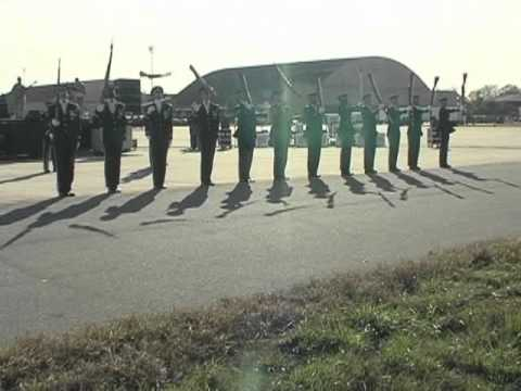 USAF Honor Guard Drill Team Performance
