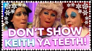 Don't Show Keith Ya CHRISTMAS Teeth! | Celeb Juice CHRISTMAS SPECIAL 2017