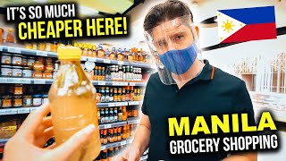 FILIPINO Supermarkets are INSANE! Is THIS Manila's BEST Grocery Store?!