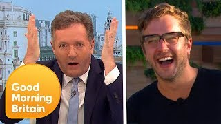Piers Makes a Bet With Voice of Love Island, Iain Stirling | Good Morning Britain