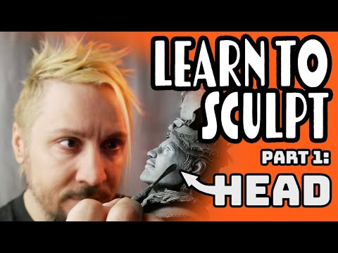Sculpey 101 Class 1 (Head)