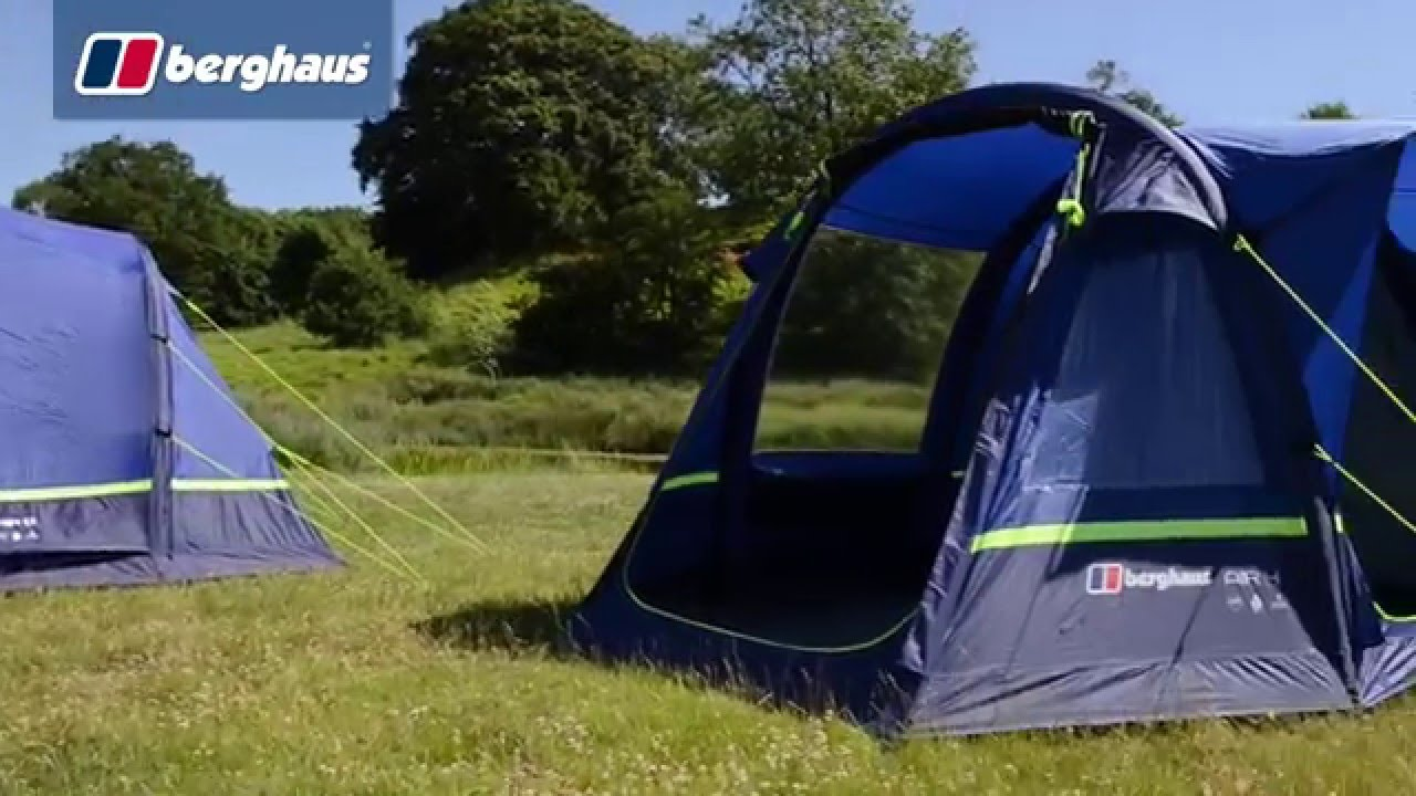 f31d7a624c8 The Berghaus Air 6 Family Tent - YouTube