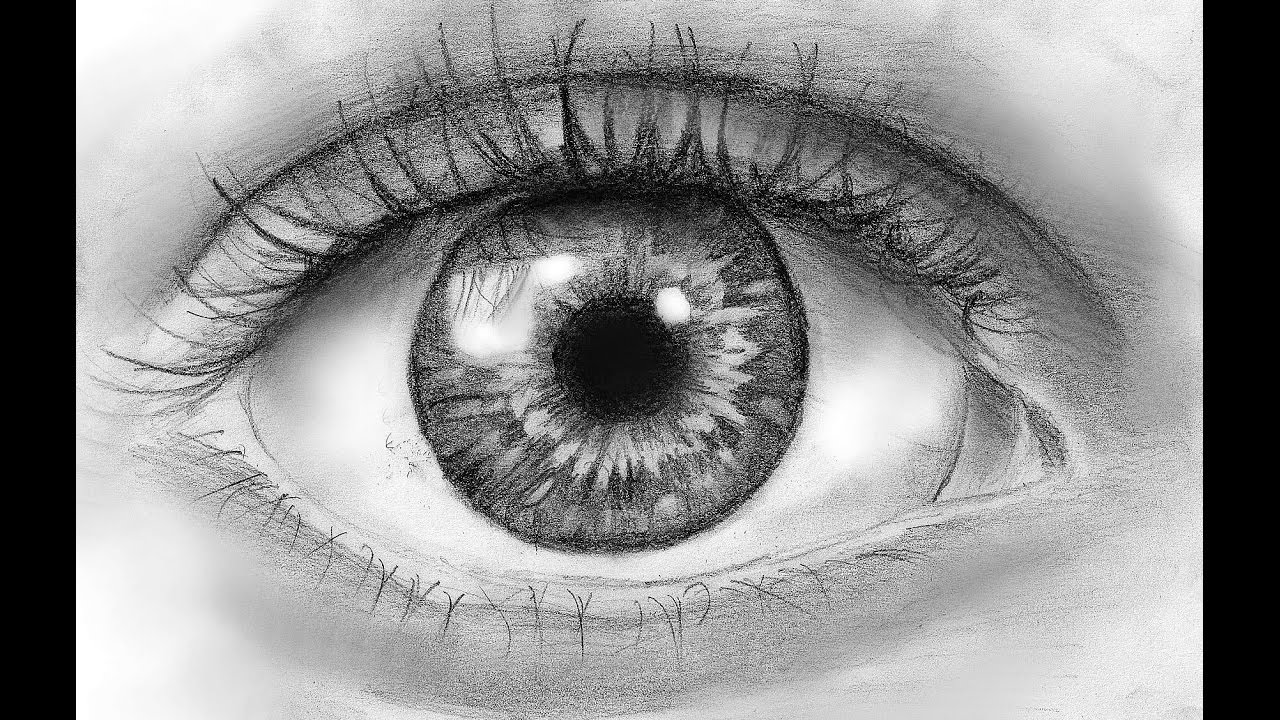 How To Draw An Eye Step By Step For Beginners And Kids