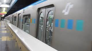 仙台市営地下鉄東西線 2000系2110F 八木山動物公園 行 仙台発車 2018.08.25