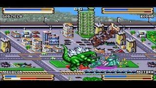 Godzilla Domination GBA Gameplay