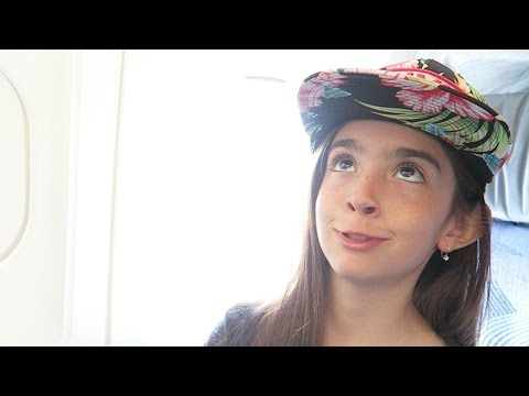 DUMB LIFE HACKS ON A PLANE with Miss Monkey