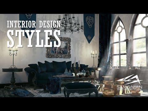 VR007 - AI - Interior Design Styles