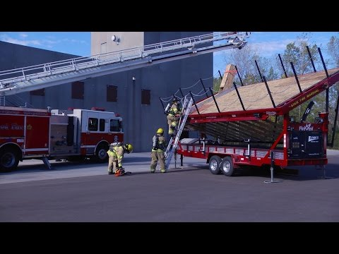 DPS News Conference: New Specially Equipped Trailers Help Firefighters Learn Life-Saving Skills