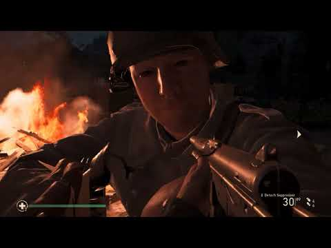    PanzerZug! A Train Wreck!    COD WW2 Gameplay Mission 4 (Veteran Difficulty)