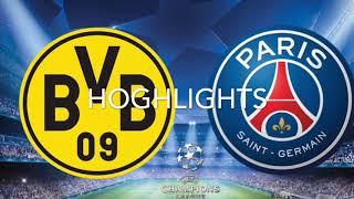 HIGHLIGHTS! (BORUSSIA DORTMUND VS PSG) all goals and highlights, Champions league