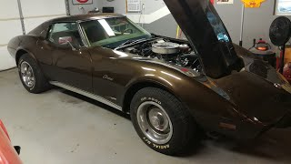 Download John's 1976 C3 Corvette Gets a Brand New Crate Engine Mp3 and Videos