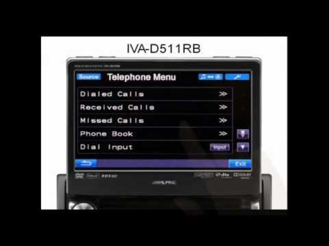 Alpine IVA-D511, NVE-M300P e BlueBack-UNICAN su Punto A ...