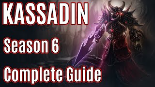 League of Legends Mid Kassadin Guide | Season 6 | Patch 5.24