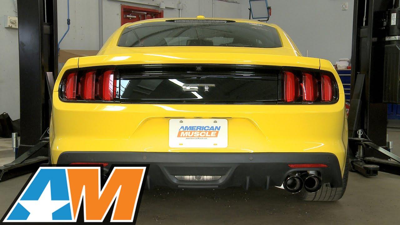 2015 2017 Mustang Roush Rear Valance Gt Amp Ecoboost