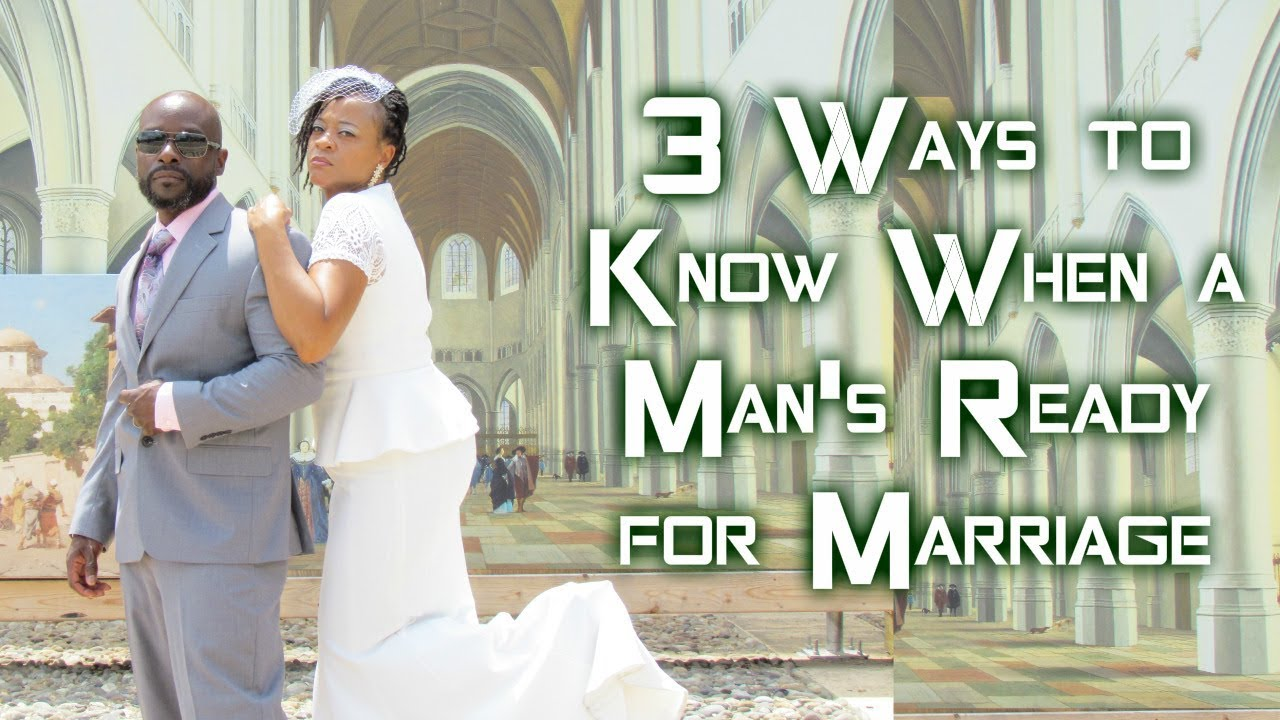 A Man For When Marriage Ready Is