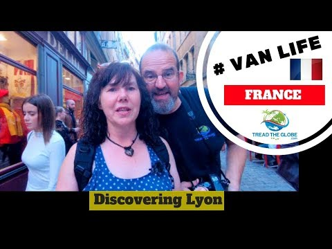Discovering the sights of Lyon France