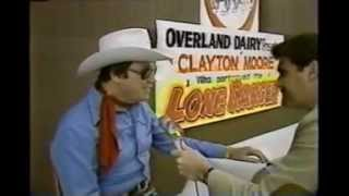 Clayton Moore  The Lone Ranger  in St Louis 1980